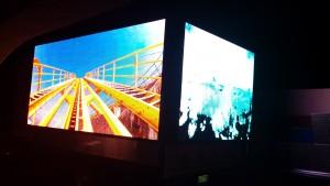 HD Video Truck - 3 Side Roller Coaster