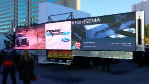 LED Trifold Ford-SEMA 2015