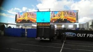 TriFold HD Video Truck Raised High